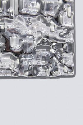Silver rigid clutch - Anna Cecere - Sale Drexcode - 2