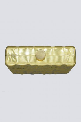 Rigid golden clutch - Anna Cecere - Sale Drexcode - 1
