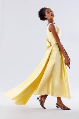 Yellow taffeta dress - Daphne - Rent Drexcode - 2