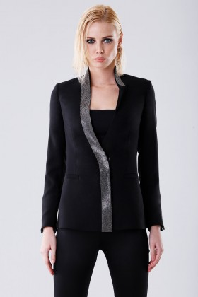 Jacket with rhinestone strap - Doris S. - Rent Drexcode - 1