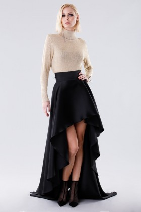 Asymmetrical high-waisted skirt - Doris S. - Rent Drexcode - 1