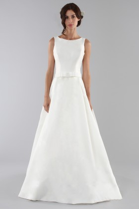Wedding dress with bow on the waist - Ilenia Sweet by Bellantuono - Rent Drexcode - 1