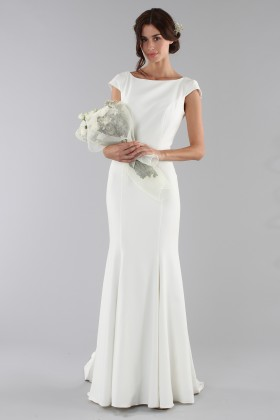 Bridal gown with drop neckline - Ilenia Sweet by Bellantuono - Rent Drexcode - 1