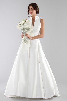 Wedding dress with neckline - Ilenia Sweet by Bellantuono - Rent Drexcode - 2