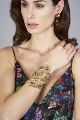 Green quartz bracelet - Rosantica - Rent Drexcode - 1