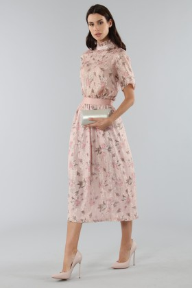 Top with sleeves and midi skirt  - Mother of Pearl - Rent Drexcode - 2