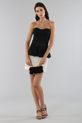 Embroidered skirt with volant - Emanuel Ungaro - Sale Drexcode - 2