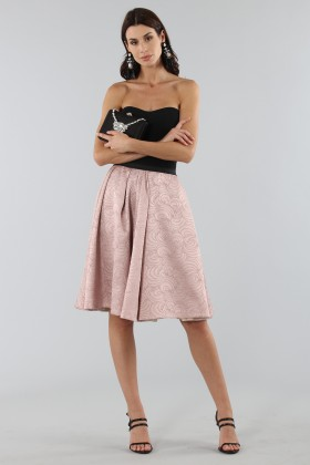 Pink skirt with prints - Antonio Marras - Rent Drexcode - 1