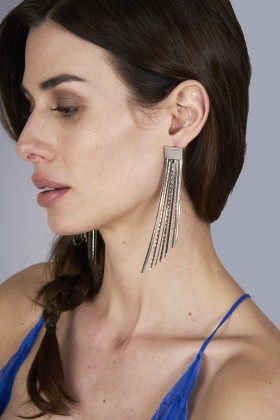 Metal earrings - Rosantica - Rent Drexcode - 1