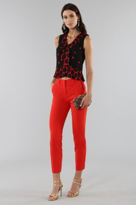 Short polka dot top - Proenza Schouler - Rent Drexcode - 1