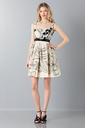 Sweetheart neckline dress - Antonio Marras - Rent Drexcode - 1