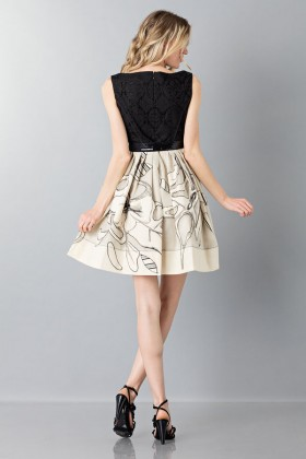 Sweetheart neckline dress - Antonio Marras - Rent Drexcode - 2