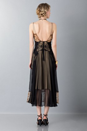 Lace and silk dress - Alberta Ferretti - Rent Drexcode - 2