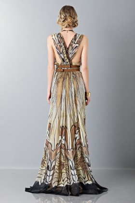 Ethinc floor-length dress - Alberta Ferretti - Sale Drexcode - 2