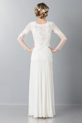 Embroidered wedding dress - Alberta Ferretti - Rent Drexcode - 2