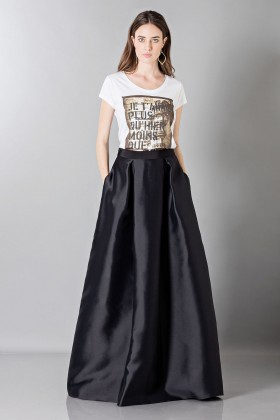 Silk loose-fitted skirt - Alberta Ferretti - Rent Drexcode - 1