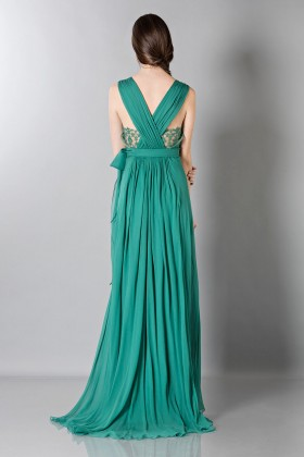 Empire waist silk dress - Alberta Ferretti - Sale Drexcode - 2