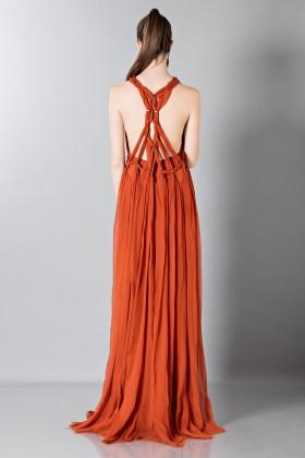 Crepon silk dress - Alberta Ferretti - Rent Drexcode - 2