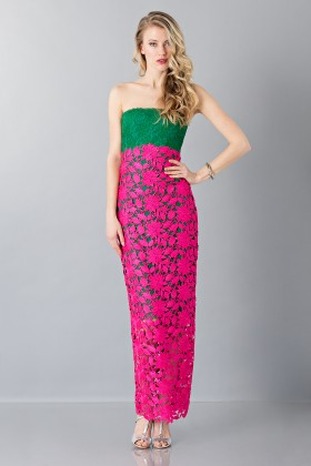 Sleeveless embroidered dress - Monique Lhuillier - Sale Drexcode - 1
