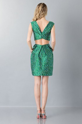 Floreal patterned dress - Monique Lhuillier - Rent Drexcode - 2