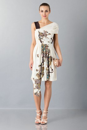 One-shoulder top with gold dots - Antonio Marras - Rent Drexcode - 1
