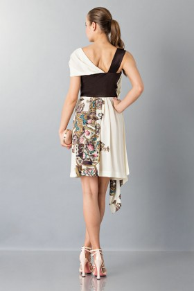 One-shoulder top with gold dots - Antonio Marras - Rent Drexcode - 2