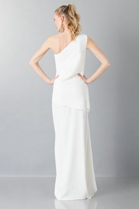 One-shoulder wedding gown - Vionnet - Rent Drexcode - 2