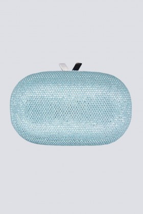 Light blue clutch with glitter - Anna Cecere - Sale Drexcode - 2