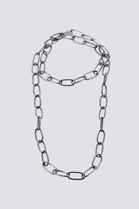 Necklace with ovals - Federica Tosi - Rent Drexcode - 1