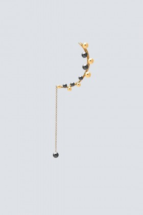 Ear cuff with spherical applications - Federica Tosi - Rent Drexcode - 2