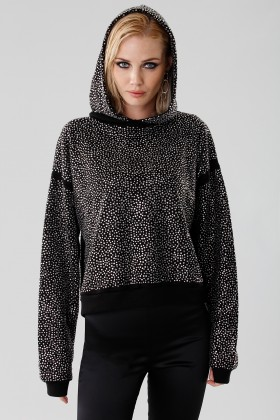 Sweatshirt with rhinestones - Doris S. - Rent Drexcode - 1
