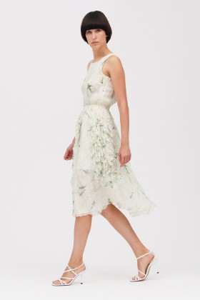 Embroidered silk dress - Rochas - Rent Drexcode - 1