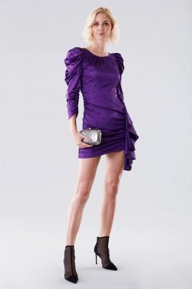 Purple polka dot dress - For Love and Lemons - Rent Drexcode - 1
