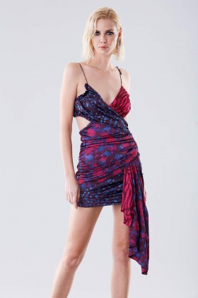 Mini dress with floral pattern - For Love and Lemons - Rent Drexcode - 1