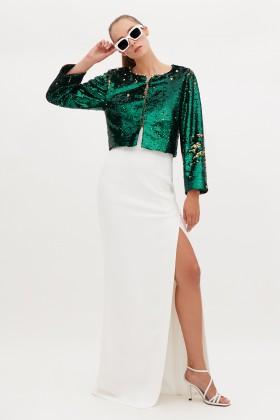 Wrap dress con paillettes mullticolori - DREX for you - Rent Drexcode - 2