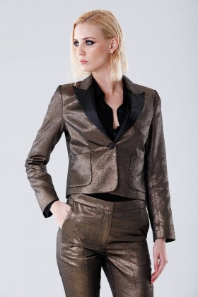 Golden suit - Giuliette Brown - Rent Drexcode - 2