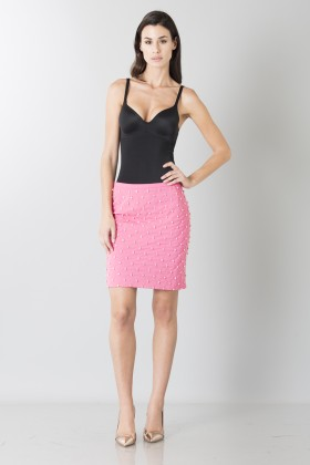 Skirt with diamonds - Moschino - Sale Drexcode - 1