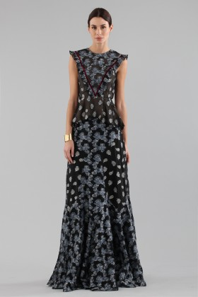 Top and skirt with brocaded pattern - Erdem - Rent Drexcode - 2