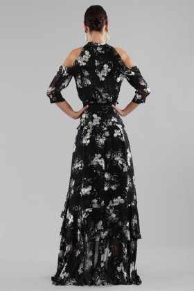Top and skirt with floral pattern - Erdem - Rent Drexcode - 1
