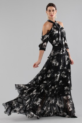 Top and skirt with floral pattern - Erdem - Rent Drexcode - 2