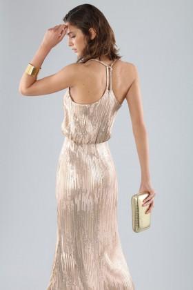 Bronze sequins dress - Forever unique - Rent Drexcode - 2