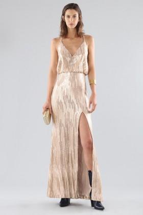 Bronze sequins dress - Forever unique - Rent Drexcode - 1