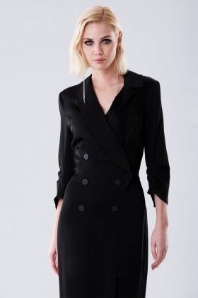 Long tuxedo dress - Halston - Rent Drexcode - 2