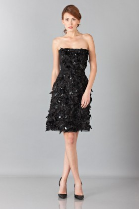 Rhinestone beaded dress - Alberta Ferretti - Rent Drexcode - 1