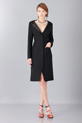 Smoking dress - Nina Ricci - Rent Drexcode - 1