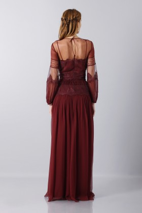 Lace dress with transparencies - Alberta Ferretti - Rent Drexcode - 2