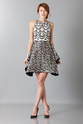 Sleeveless jacquard dress - Giambattista Valli - Rent Drexcode - 1