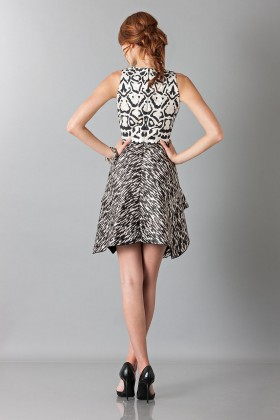 Sleeveless jacquard dress - Giambattista Valli - Rent Drexcode - 2