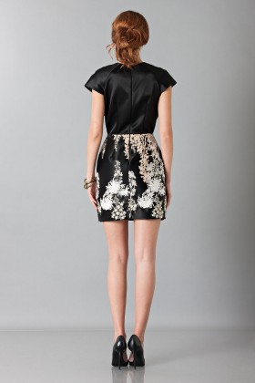 Embroidered black dress - Blumarine - Rent Drexcode - 2