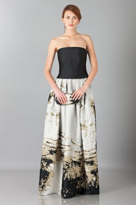 Long bustier dress - Alberta Ferretti - Rent Drexcode - 1